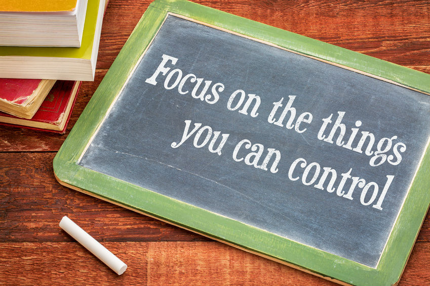 Focus on what you can do…