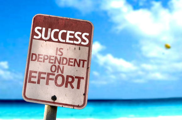 Success: Why you can't give 110% effort forever