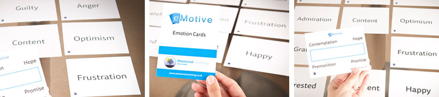 "Discuss emotion with your clients, in your clients ""own words"" with eMotive Cards"