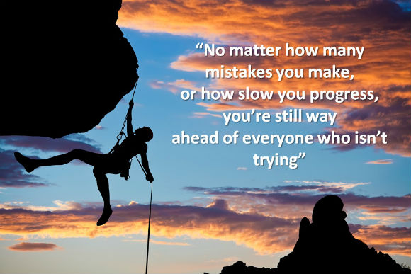 If at first you don't succeed…. Persevere